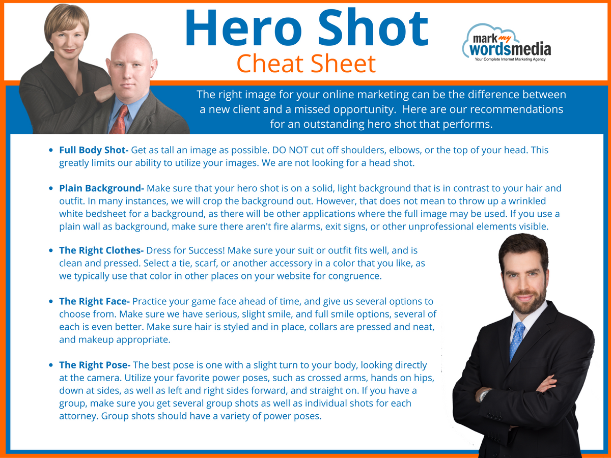 Hero Shots for Lawyers
