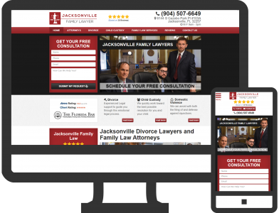 Jacksonville Family Lawyer Marketing