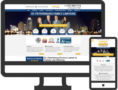 St. Petersburg, FL Family Law Firm Marketing